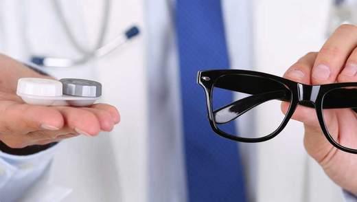 Чи можуть окуляри і лінзи зіпсувати зір