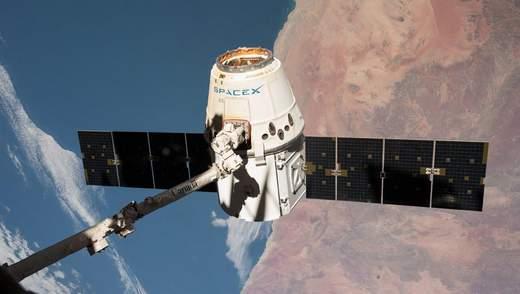 Космічний корабель SpaceX Dragon успішно завершив місію до МКС