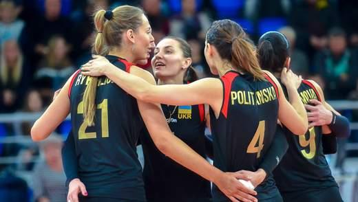 Женская сборная Украины по волейболу получила соперников на Евро-2019