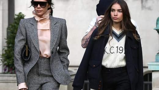 Вікторія Бекхем почала одягати дівчину Брукліна у свій бренд: фотофакт