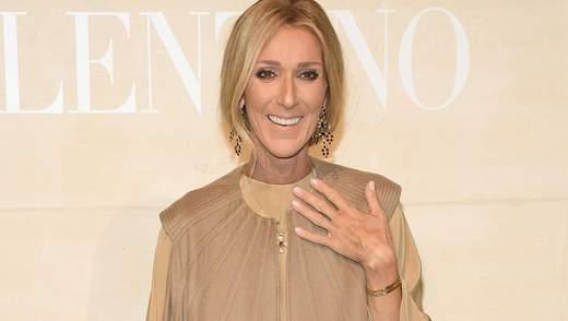 Селин Дион не смогла сдержать слез на показе Valentino: трогательное видео