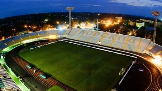 Збірна України матч відбору на Євро-2020 може зіграти у Полтаві