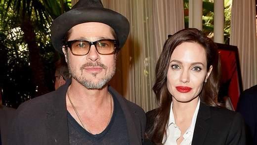 Анджелина Джоли впервые за 2 года увиделась с Брэдом Питтом, – СМИ