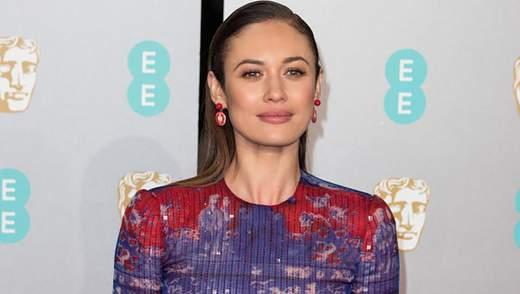 Ольга Куриленко відвідала два світські заходи у чарівній сукні від Armani