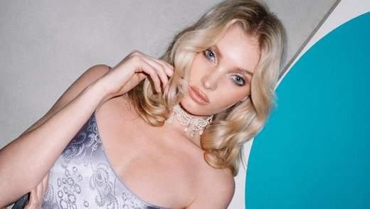 Ельза Госк одягнула вечірню сукню на голе тіло: гарячі фото