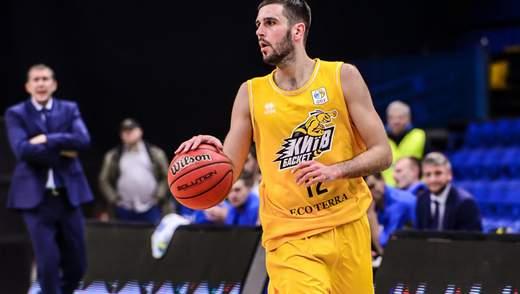 Уперше українець став найкращим баскетболістом місяця у Суперлізі Парі-Матч