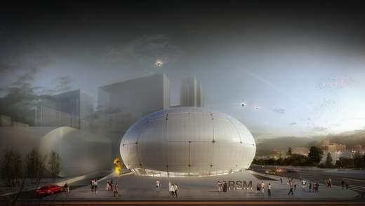 Музей робототехніки збудують роботи: фото футуристичної будівлі