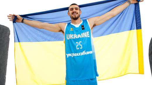 Український баскетболіст виставив на благодійний аукціон унікальну майку гравця НБА