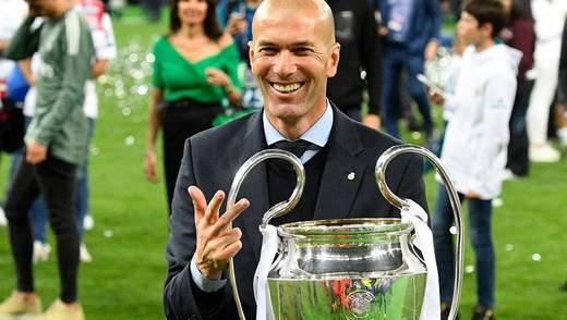 """""""Реал"""" спутал карты всем топ-клубам Европы, виной всему Зидан"""