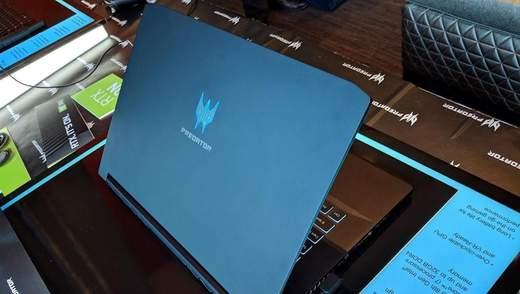 Ігровий ноутбук Acer Predator Triton 500 надійшов у продаж в Україні: особливості та ціна