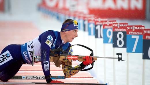 Українські біатлоністи прокоментували невдалий виступ у спринті на етапі Кубка світу