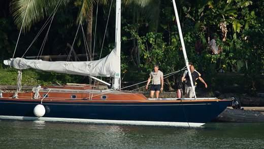 З'явилися перші знімки зі зйомок фільму про Джеймса Бонда на Карибських островах: фото