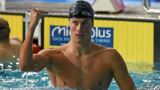 Двое украинских пловцов завоевали серебряные награды на этапе Лиги чемпионов FINA