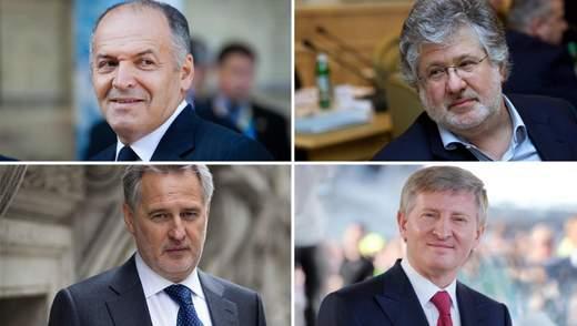 Як та на чому заробляють топові українські олігархи: скандальні схеми