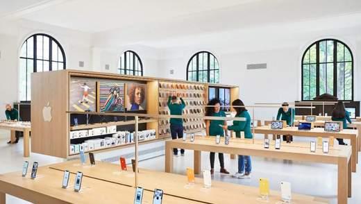 Як старовинна бібліотека перетворилась на сучасний Apple Store: фото
