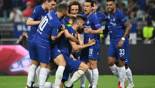 """""""Челсі"""" розгромив """"Арсенал"""" у фіналі Ліги Європи: відео"""