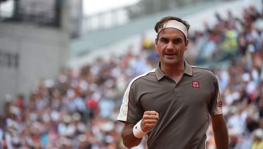 Роджер Федерер и Рафаэль Надаль сыграют в полуфинале Roland Garros