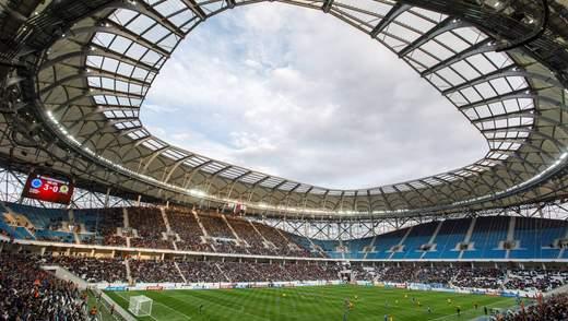 В России разграбили стадион, который принимал матчи ЧМ-2018