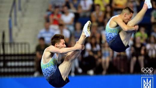 Европейские игры 2019: украинцы завоевали серебро в прыжках на батуте