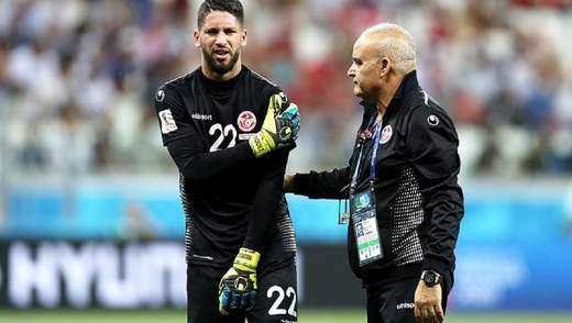 Вратарь Туниса в стиле Кепы отказался покидать поле перед серией пенальти: видео