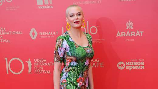 Кино дает возможность выражать правду метафорами, – Роуз Макгоуэн на Одесском кинофестивале
