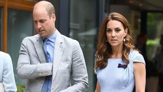 У блакитній сукні та туфлях: Кейт Міддлтон прийшла на закриття Вімблдону