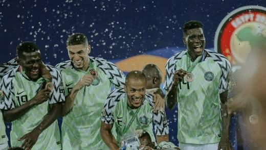 Збірна Нігерії виграла матч за третє місце на Кубку африканський націй-2019: відео
