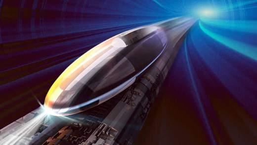 Як виглядатимуть станції швидкісного потяга Hyperloop: захоплююче відео