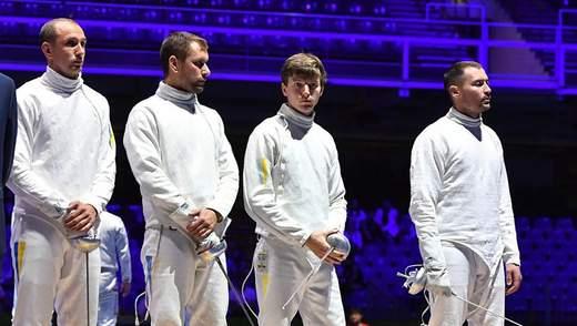 Сборная Украины по фехтованию на шпагах вышла в финал Чемпионата мира
