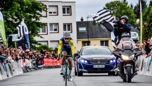 Украинец Пономарь завоевал золото на чемпионате Европы по велоспорту