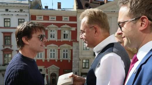 Голливудский актер Том Круз прилетел во Львов: первые фото
