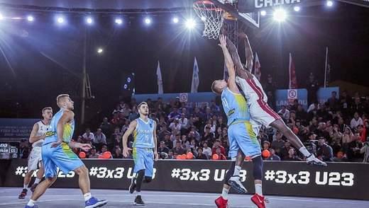 Україна пробилася до плей-офф чемпіонату світу з баскетболу 3х3