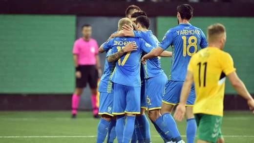 Україна – Литва: онлайн-трансляція матчу кваліфікації Євро-2020