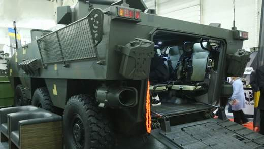 """Техника войны: Мощный бронетранспортер """"Атаман-3"""". Винтовка бесшумной стрельбы """"Шепот"""""""