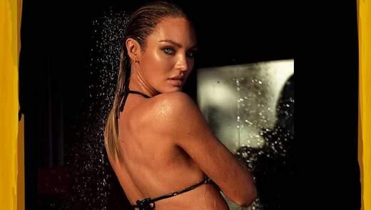 """Кэндис Свайнпол показала роскошную фигуру в купальнике: фото """"ангела"""" Victoria's Secret"""