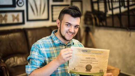 Бумага из листьев: студент КНУ прославился на международном конкурсе