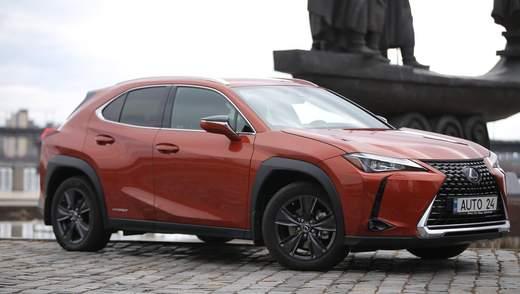 BIG TEST: тест-драйв гибридного Lexus UX