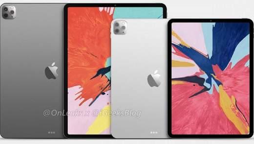 Дизайн iPad Pro 2020 полностью рассекречен авторитетным инсайдером: фото