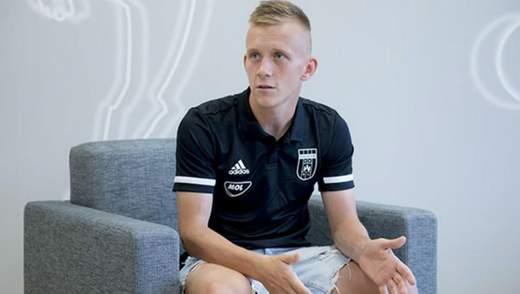 Украинец Петряк отметился курьезным голом в контрольном матче – видео