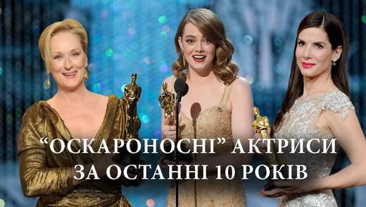 Какие актрисы получили Оскар за последние 10 лет: список лауреаток