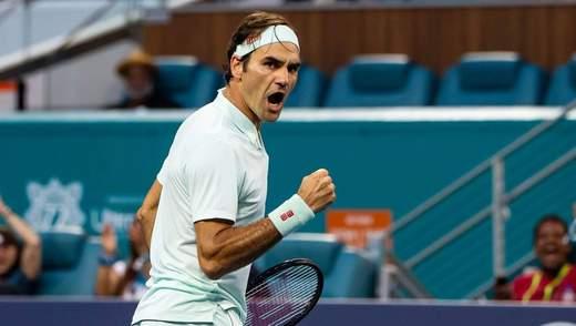 Федерер оштрафований на 3 тисячі доларів за нецензурний вислів на Australian Open