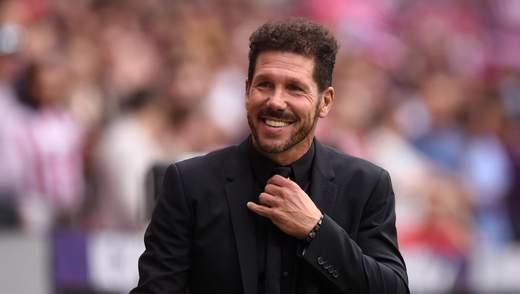 Дієго Сімеоне – найвисокооплачуваніший тренер в Європі, Гвардіола – другий, Зідан лише п'ятий