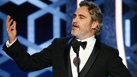 Хоакин Феникс посвятил победную речь на Оскаре-2020 экологии: трогательное видео
