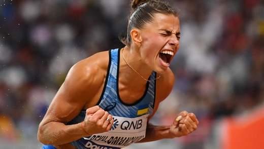 Украинские легкоатлетки Бех-Романчук и Магучих победили в серии World Athletics Indoor Tour