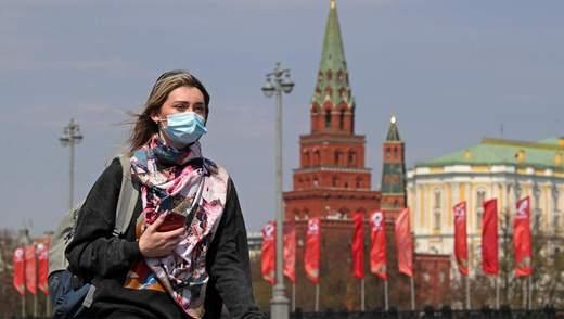 Коронавірус в Росії: понад 860 тисяч хворих