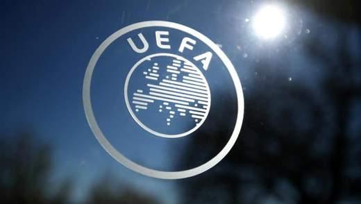 УЄФА вимагає 300 мільйонів євро від клубів через перенесення Євро-2020