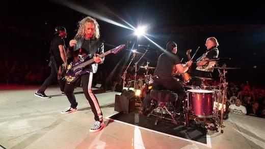 Гурт Metallica щопонеділка презентуватиме новий запис з концерту: відео