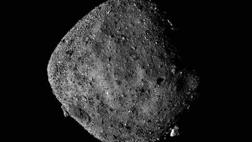 NASA показало поверхню астероїда Бенну у високій роздільній здатності