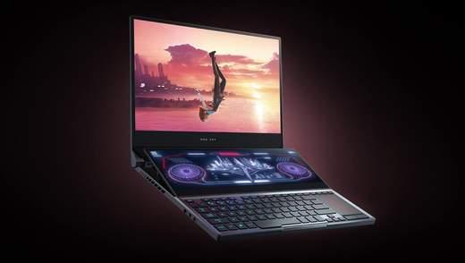 Asus ROG Zephyrus Duo 15: унікальний ноутбук для геймерів з двома екранами