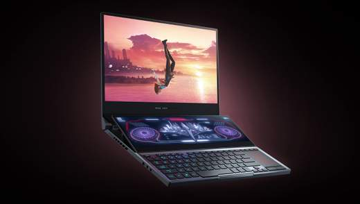 Asus ROG Zephyrus Duo 15: уникальный ноутбук для геймеров с двумя экранами